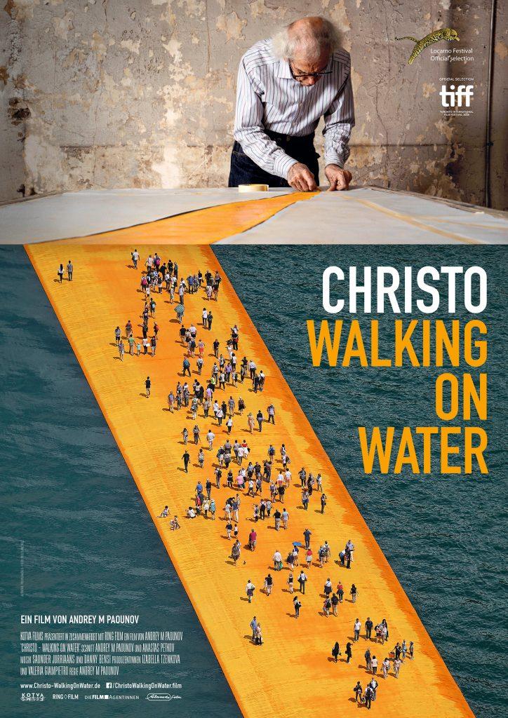 Walking on water_Alamode_Plakat