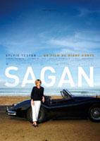 Bonjour Sagan_Schwarz Weiss_Plakat