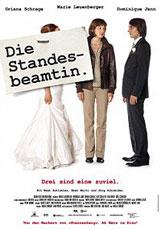 DIE STANDESBEAMTIN_Schwarz Weiss_Plakat