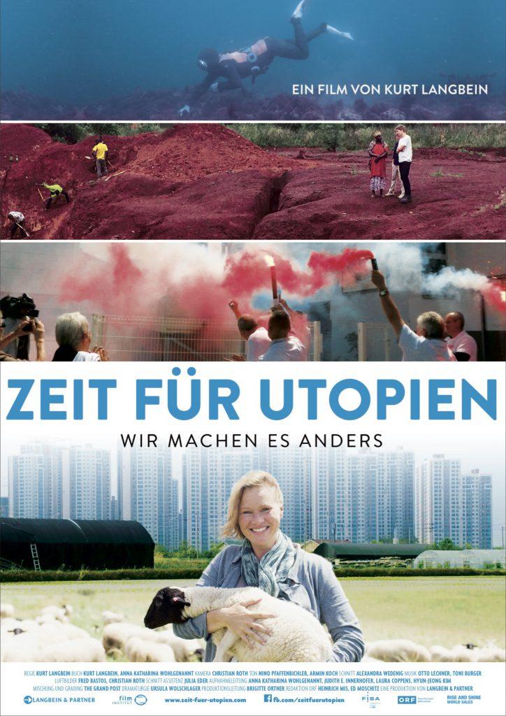 Zeit für Utopien_Langbein_Plakat